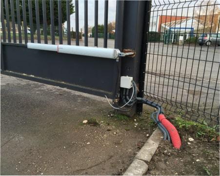 Motorisation de portails électriques à Arras