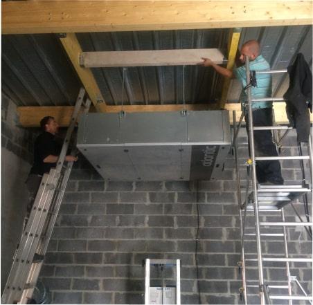 Installation de ventilation à Arras